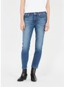 7 FOR ALL MANKIND Mid Blue Jean stone