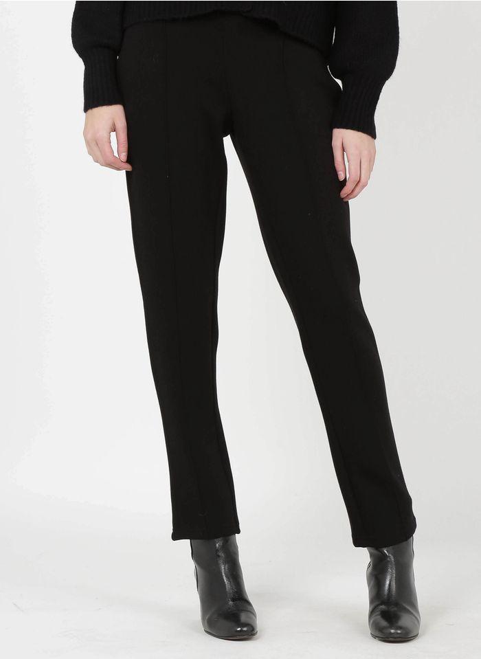 TWINSET Black Slim-fit pants