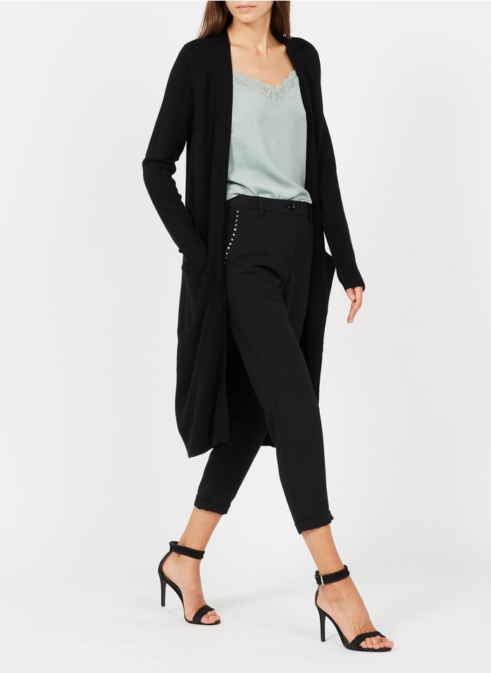 VILA Black Long cardigan