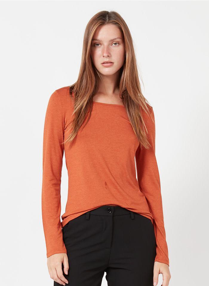 ANTOINE & LILI Tee-shirt col rond  en naranja