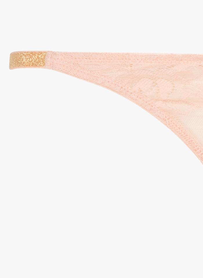 BELIZA Braguita de encaje en rosa