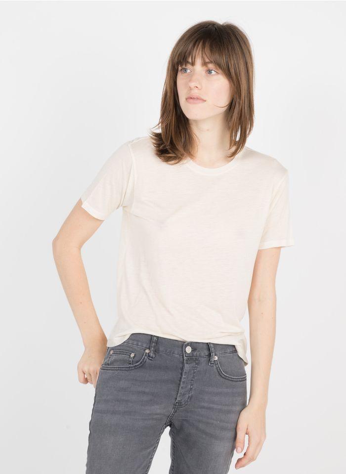 BERENICE Camiseta con cuello redondo en beige