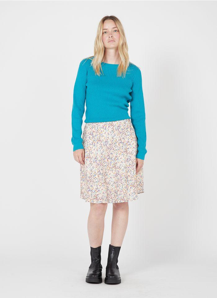 EKYOG Falda corta estampada en multicolor