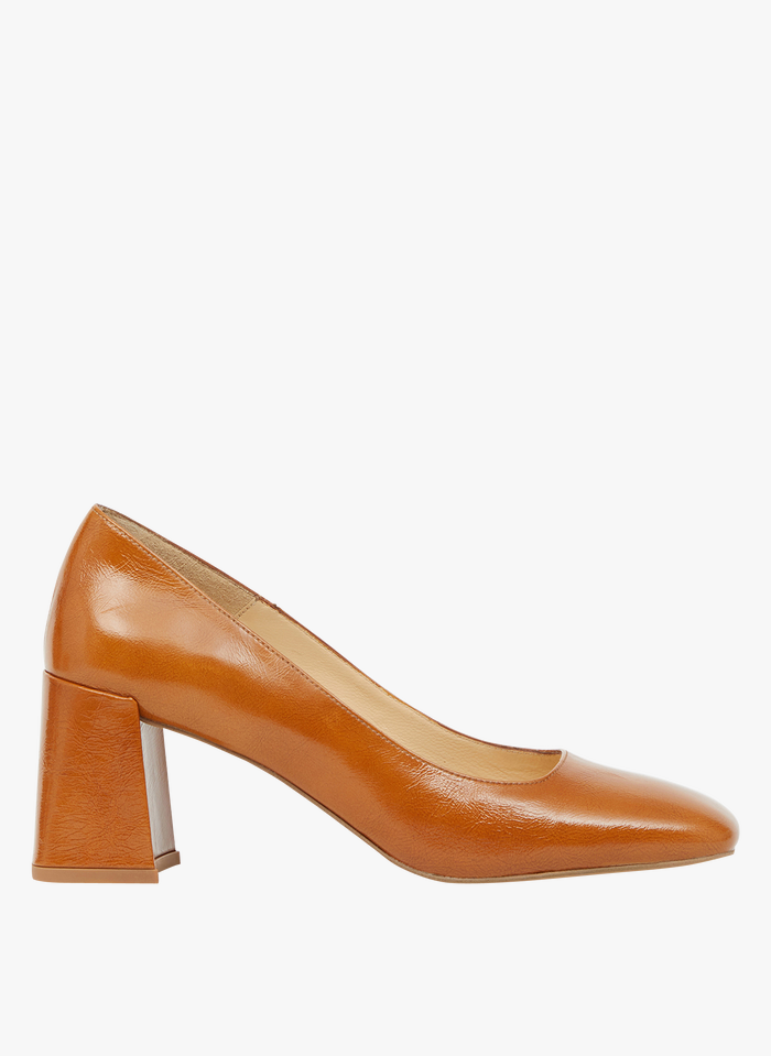 MINELLI Zapatos de salón de piel en beige
