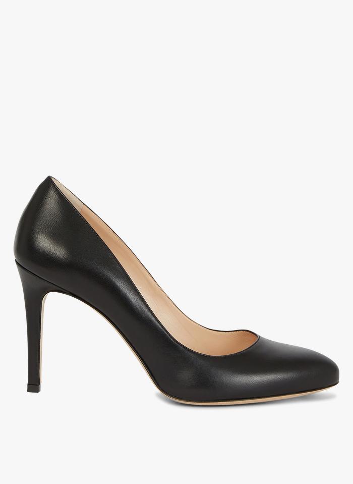 MINELLI Zapatos de salón de piel en negro