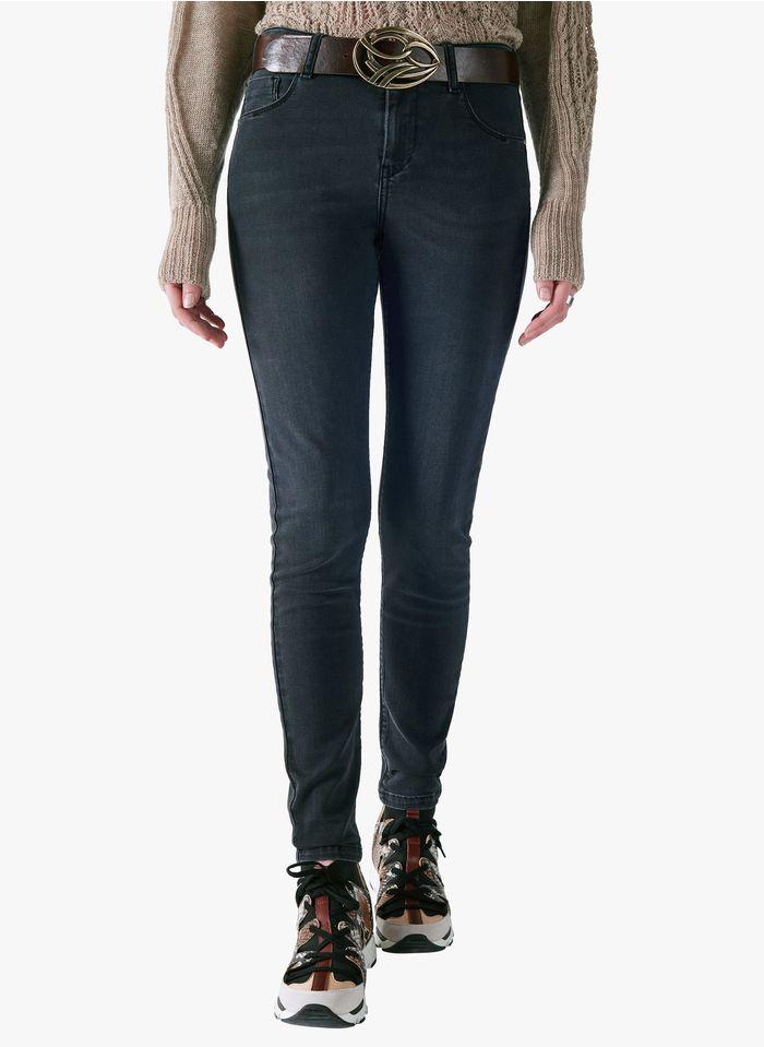 ACOTE Jean slim Noir