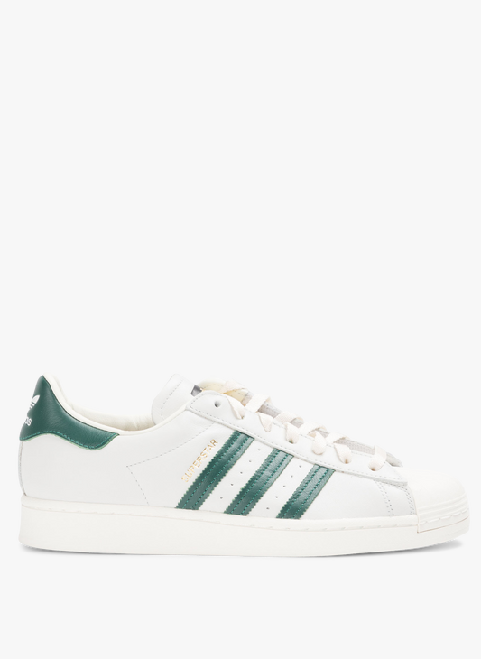 Adidas Superstar en cuir Vert