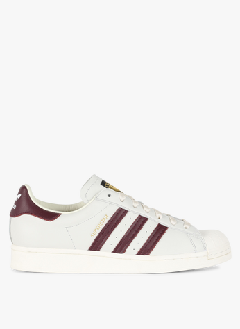 Adidas Superstar Owhite/maroon/owhite Adidas - Homme | Place des ...