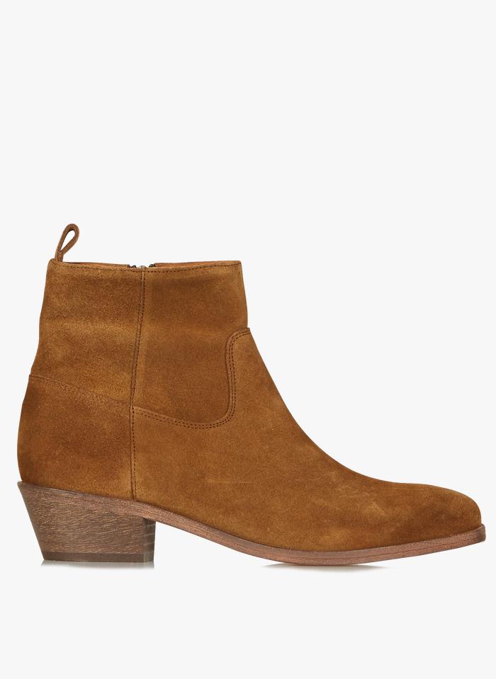 ANTHOLOGY PARIS Boots en cuir Marron