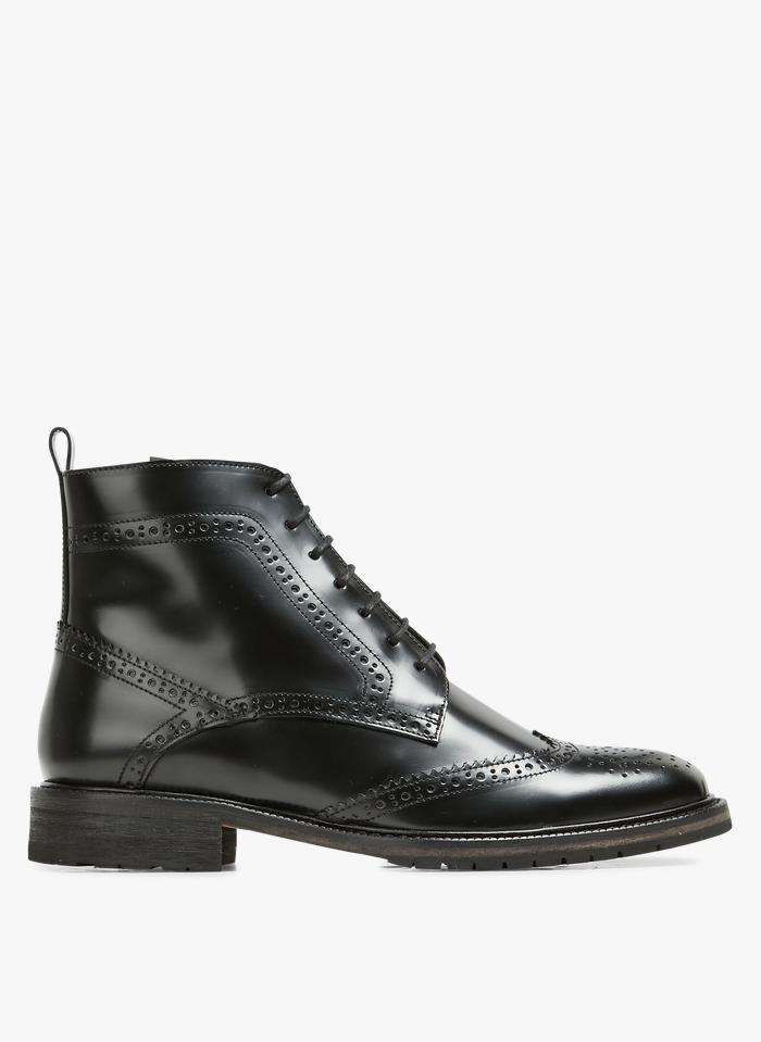 ANTHOLOGY PARIS Boots en cuir  Noir