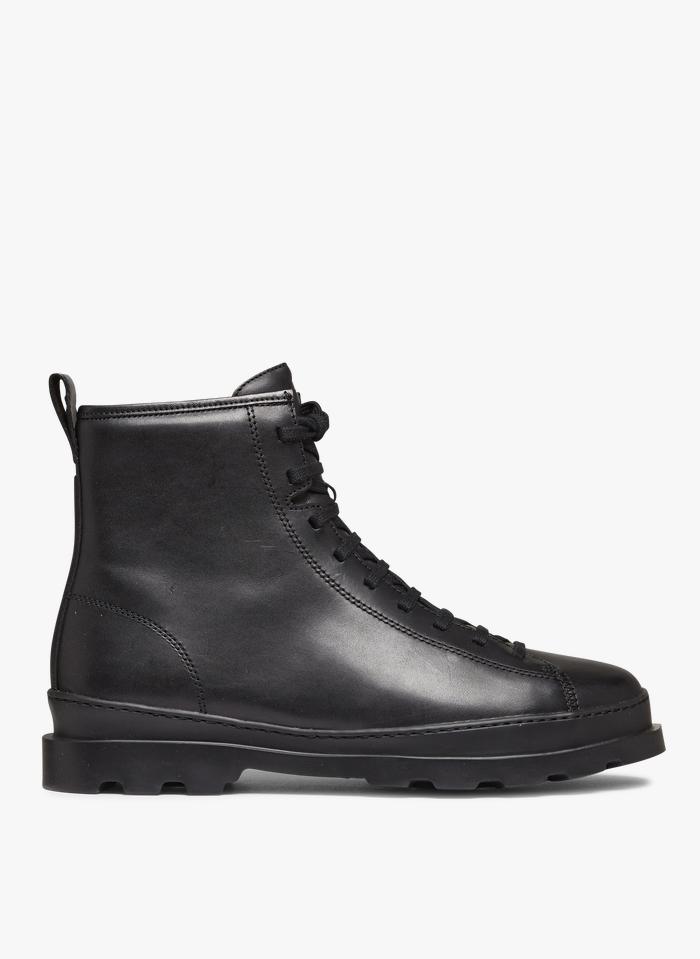 CAMPER Boots en cuir Noir