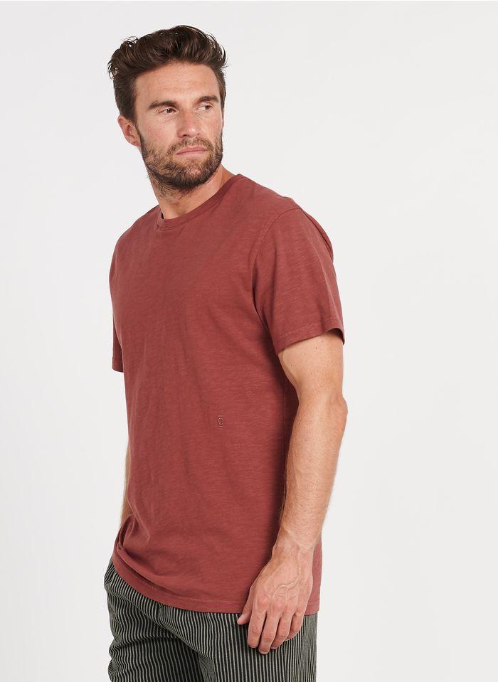 CLOSED Tee-shirt col rond ragular fit en coton Blanc