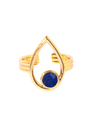 EMMA & CHLOE OR-Lapis Lazuli Doré
