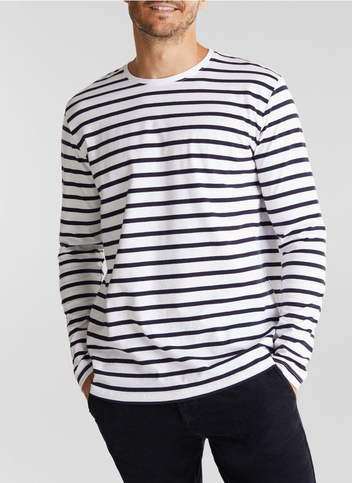 ESPRIT Tee-shirt col rond  Blanc
