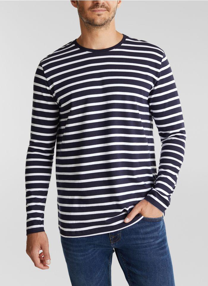 ESPRIT Tee-shirt col rond  Bleu