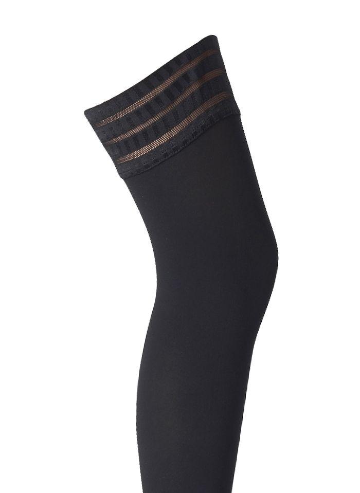 FALKE Bas semi-opaques et mats Noir