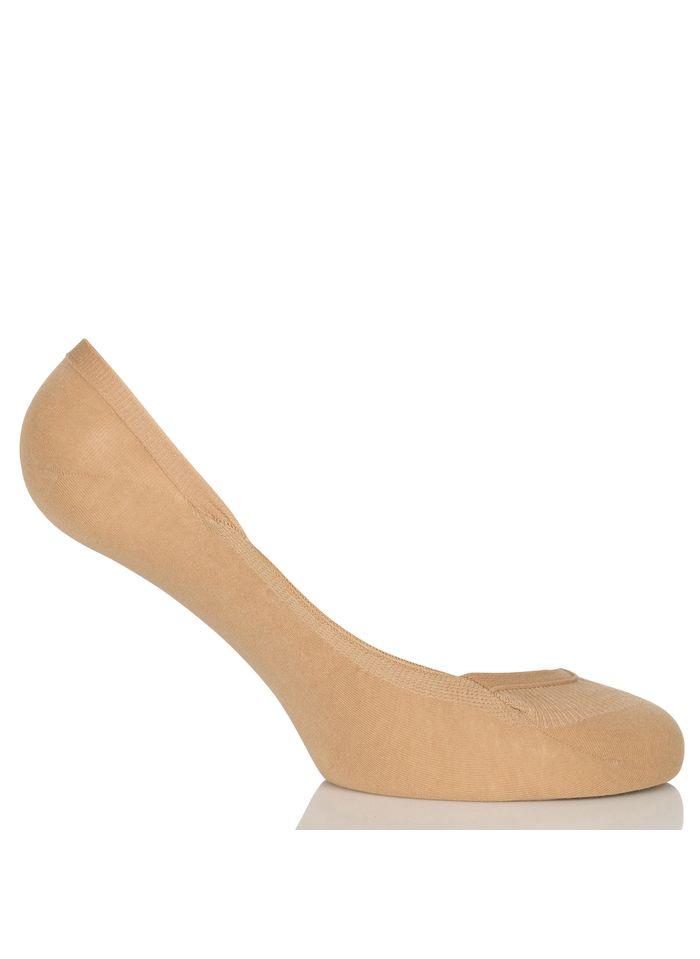FALKE Protège pieds en coton Beige
