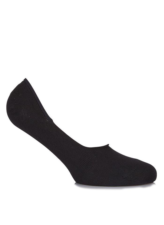FALKE Soquettes invisibles en coton Noir