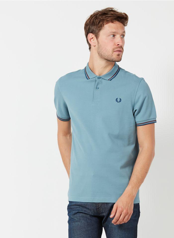 FRED PERRY Polo regular-fit en piqué de coton Bleu
