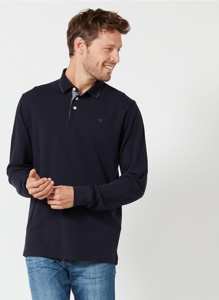 HACKETT Polo regular-fit en coton piqué Bleu