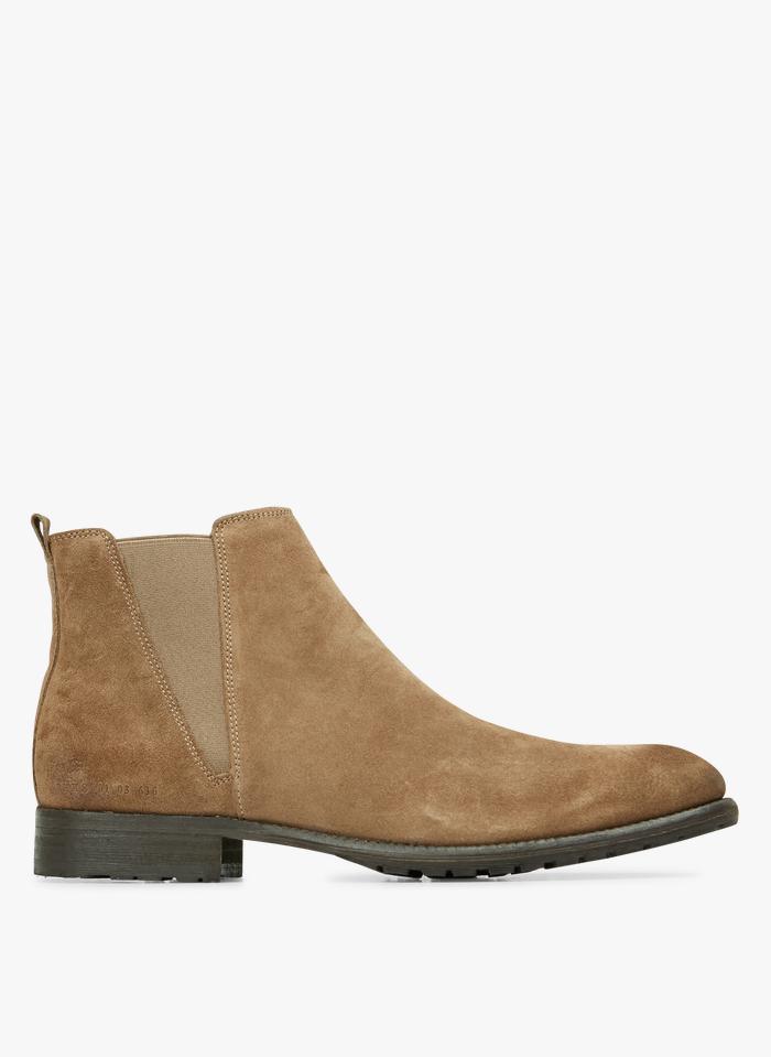 IKKS Boots en cuir Beige