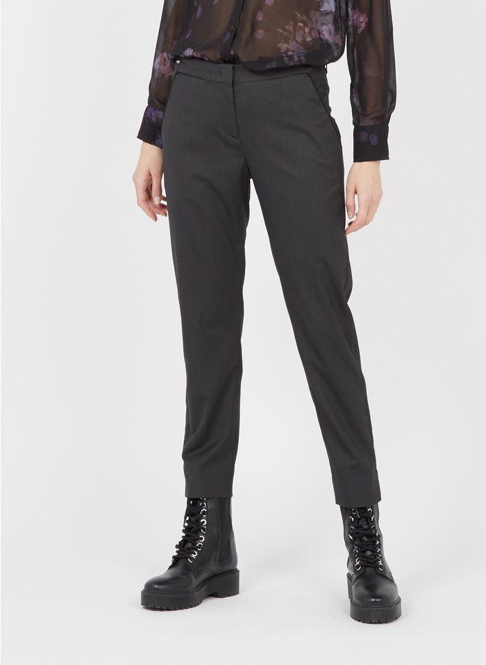IKKS Pantalon droit  Noir