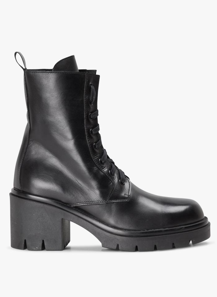 JONAK Boots à talons épais  Noir