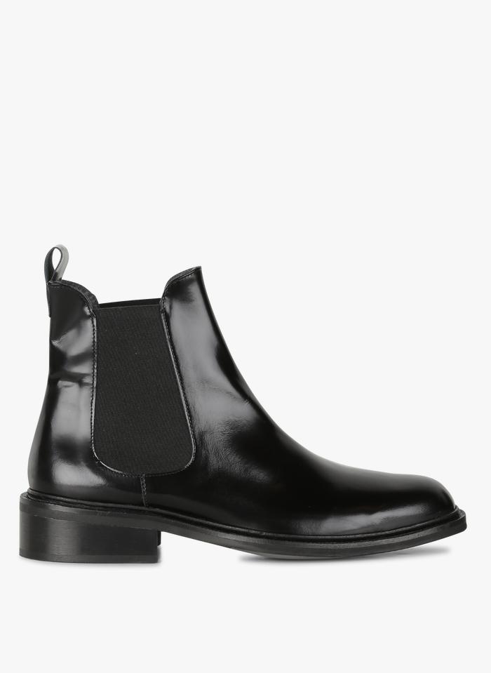 JONAK Chelsea boots en cuir  Noir