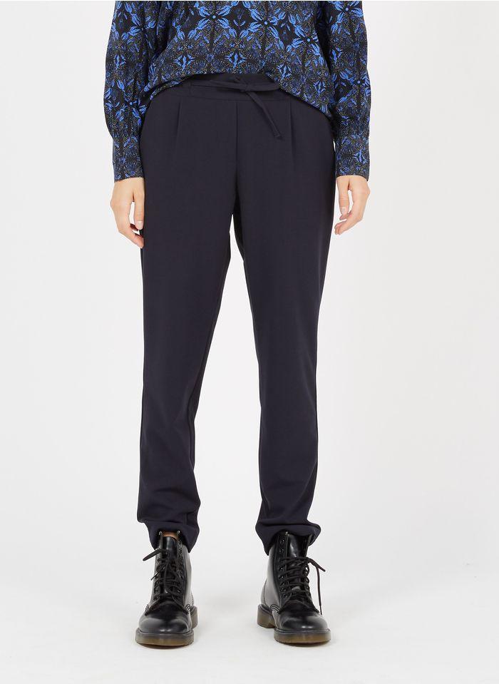 LA FEE MARABOUTEE Pantalon droit Bleu