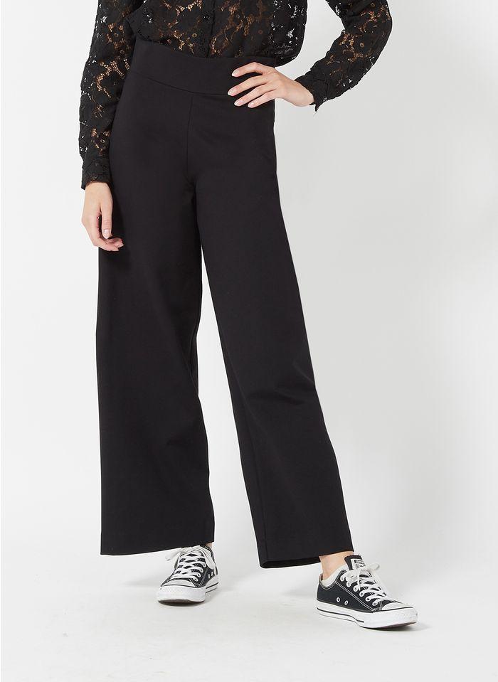 LA FEE MARABOUTEE Pantalon large 7/8ème  Noir