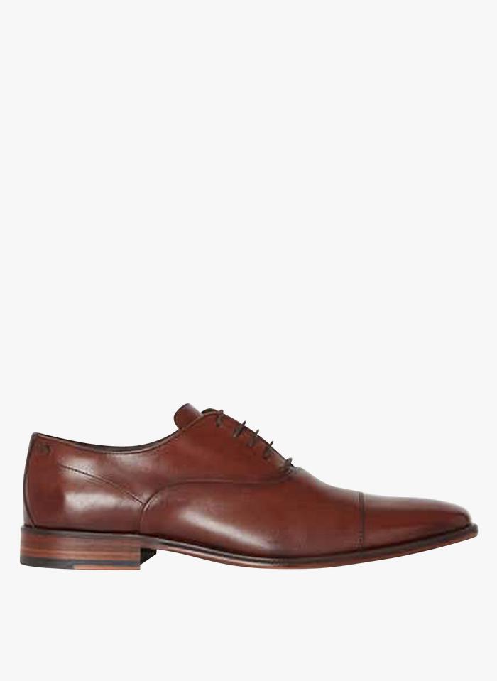 MINELLI Chaussures Richelieu en cuir Marron
