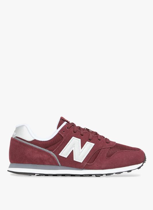 New Balance 373 en cuir Rouge