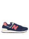 NEW BALANCE NAVY/RED Bleu