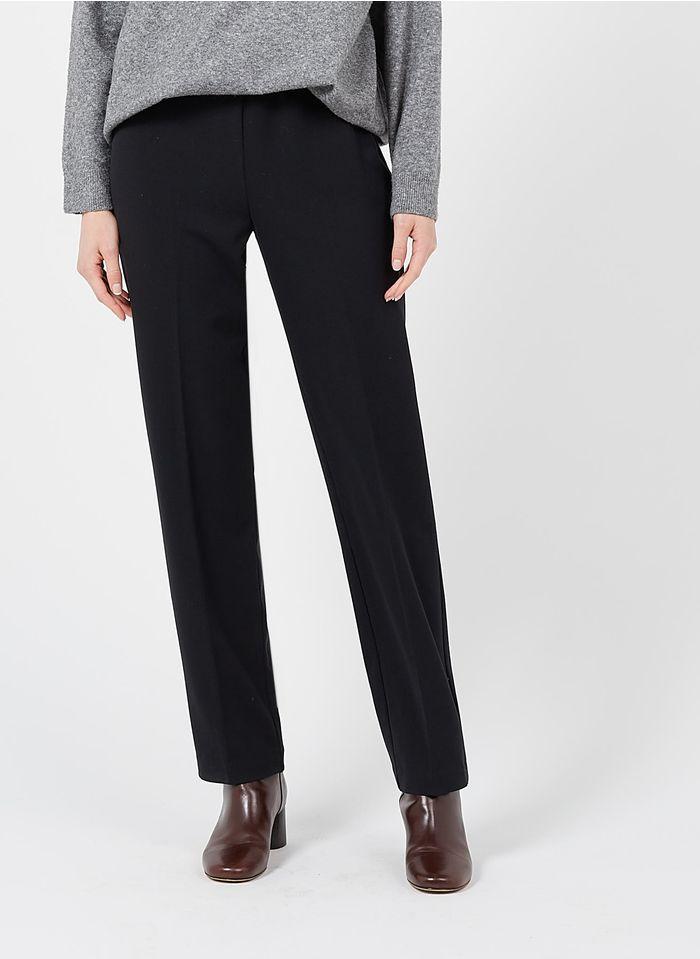NICE THINGS Pantalon droit Noir