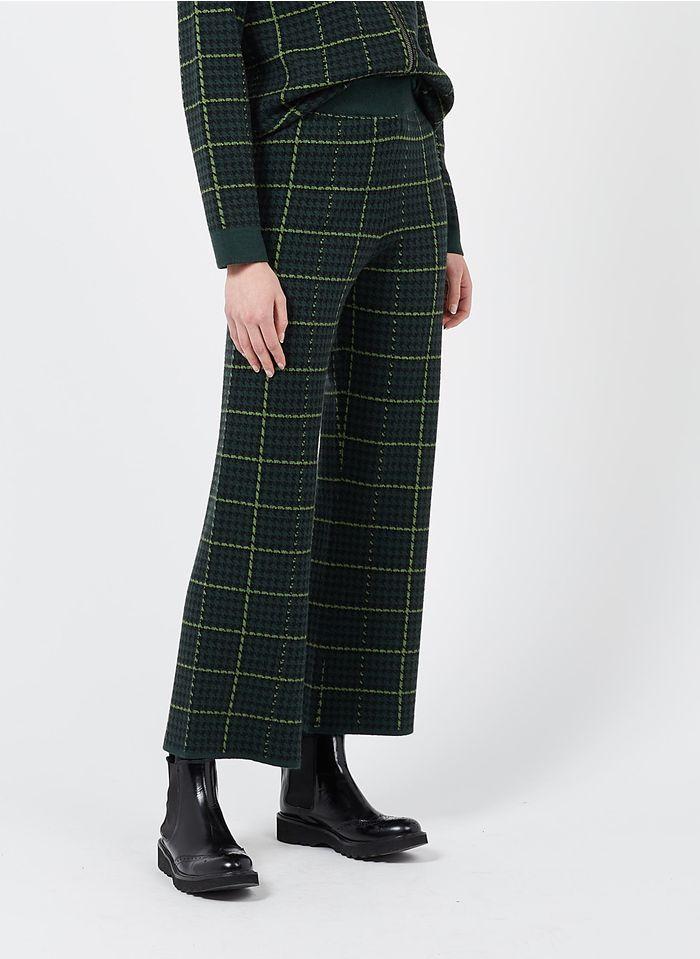 NICE THINGS Pantalon large jacquard  Multicolore