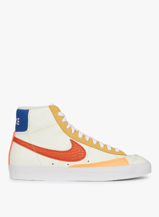Nike Blazer Mid '77 Sail/campfire Orange-white-citron Pulse Nike ...