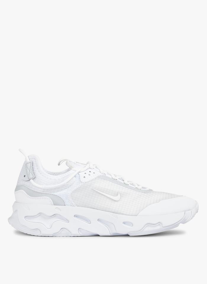 NIKE Nike React Live en toile Blanc