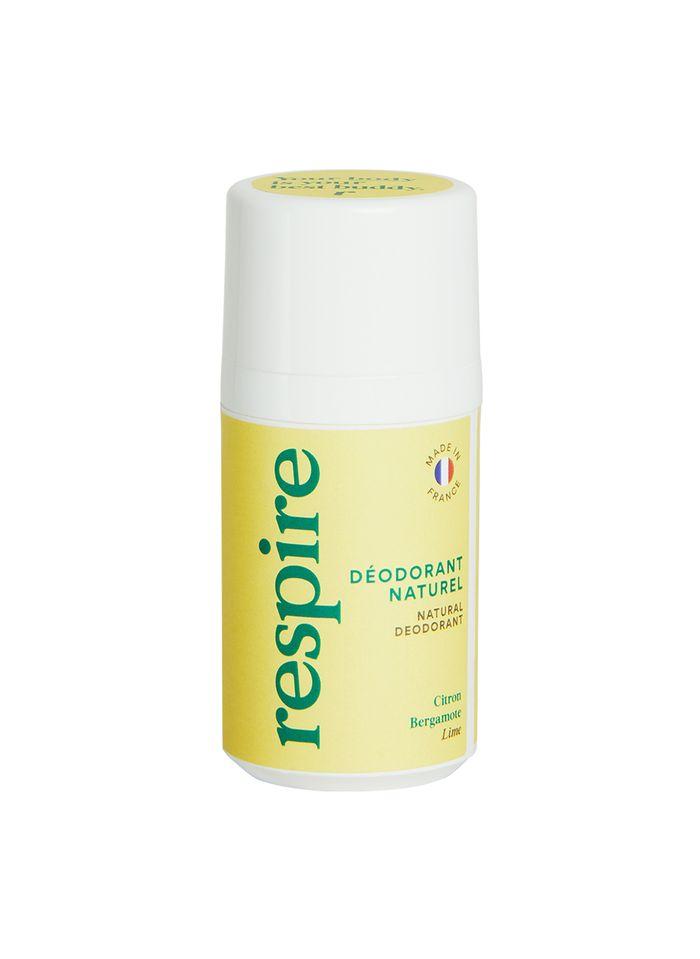 RESPIRE Déodorant Roll On Citron Bergamote