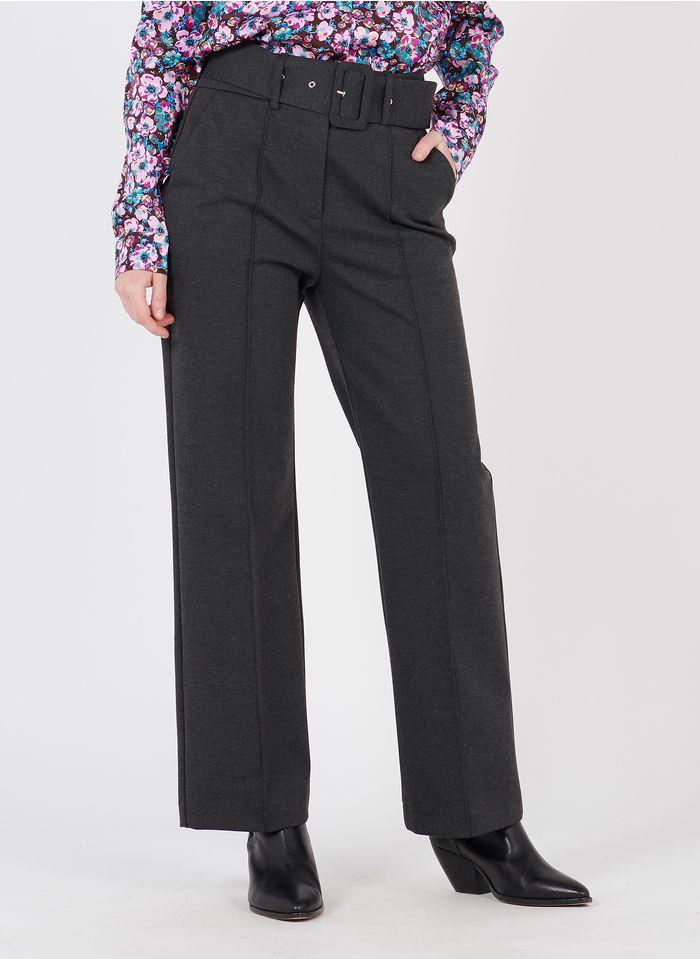 SUNCOO Pantalon droit Gris
