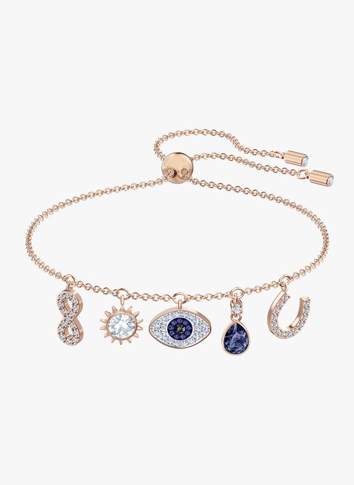 SWAROVSKI Bracelet avec charms  Doré