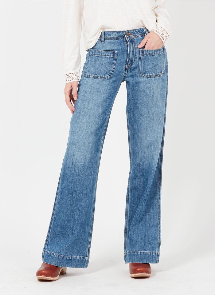 SWILDENS Jean boot-cut en brut Jean brut