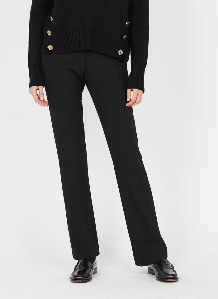 TARA JARMON Pantalon droit  Noir