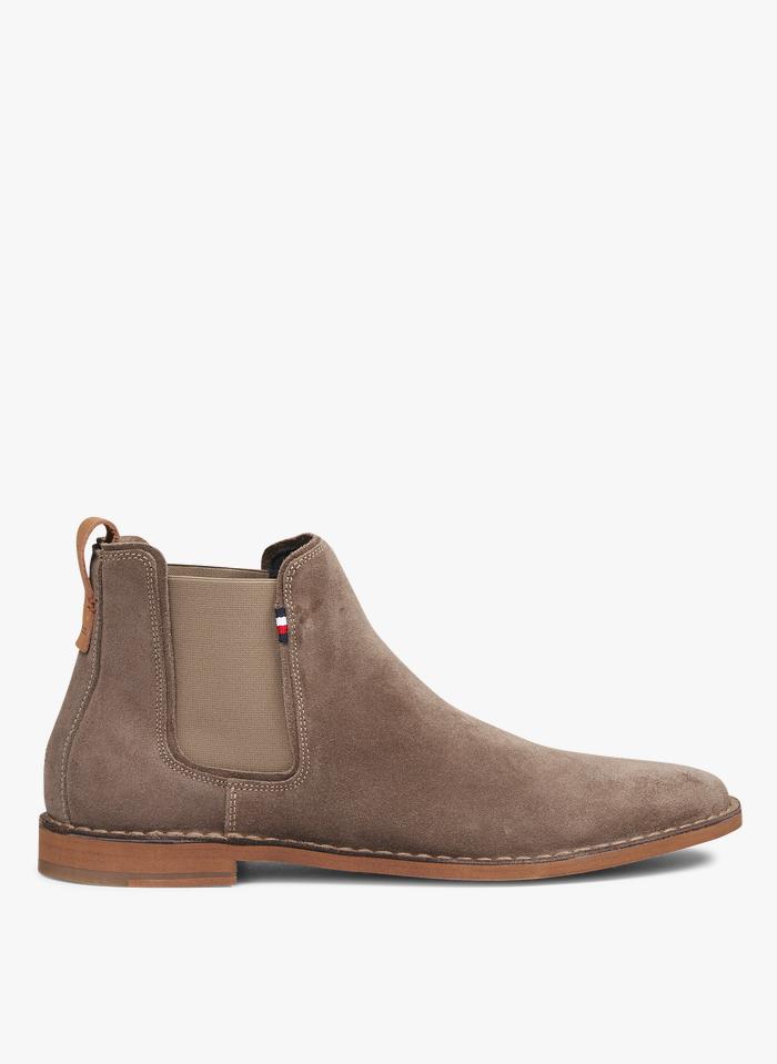 TOMMY HILFIGER Boots en cuir Marron