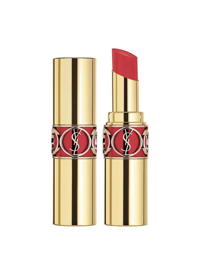 YVES SAINT LAURENT Rouge Volupté Shine Oil-In-Stick Rouge à Lèvres  - 82 Orange Crêpe