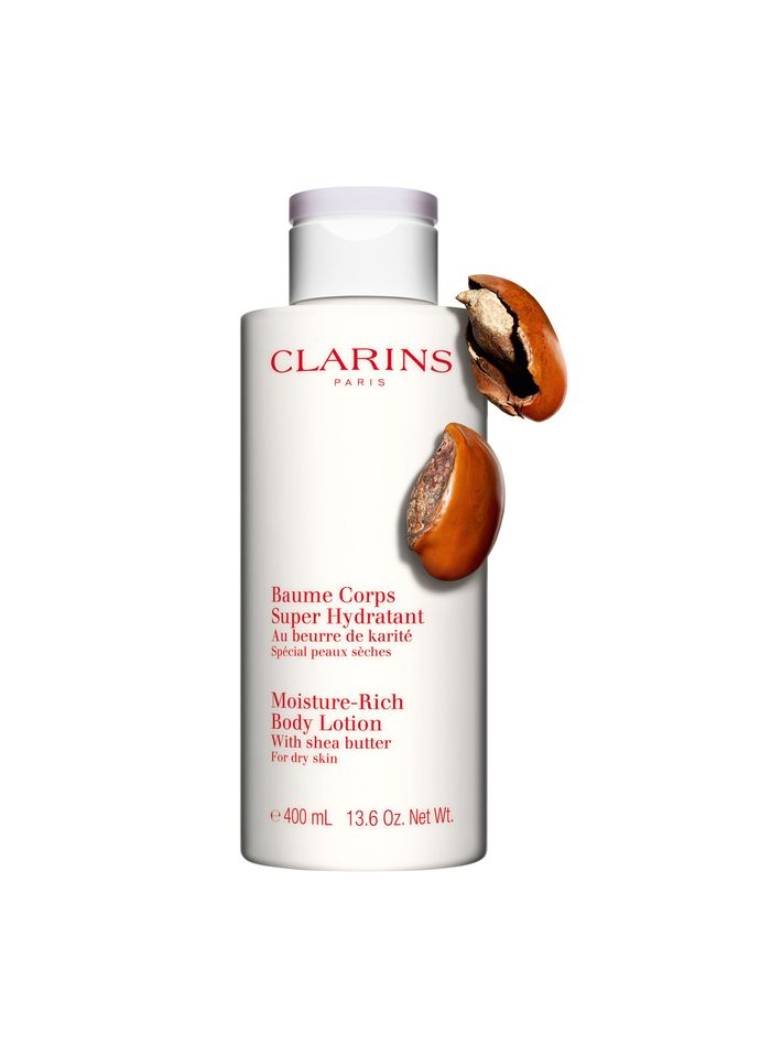 CLARINS Baume Corps Super Hydratant - Feuchtigkeitsspendender Körperbalsam mit Sheabutter