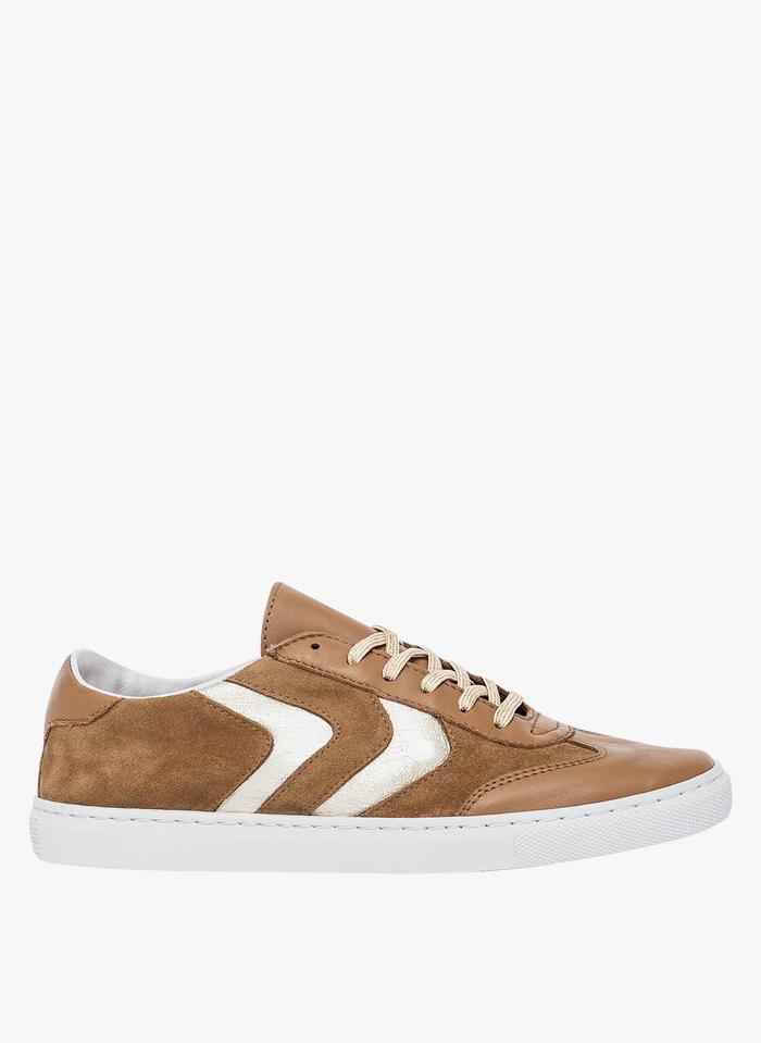 BOCAGE Sneakers basse in pelle Marrone