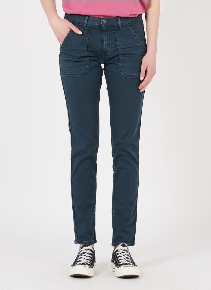 ACQUAVERDE Rechte jeans met normale taille Grijs