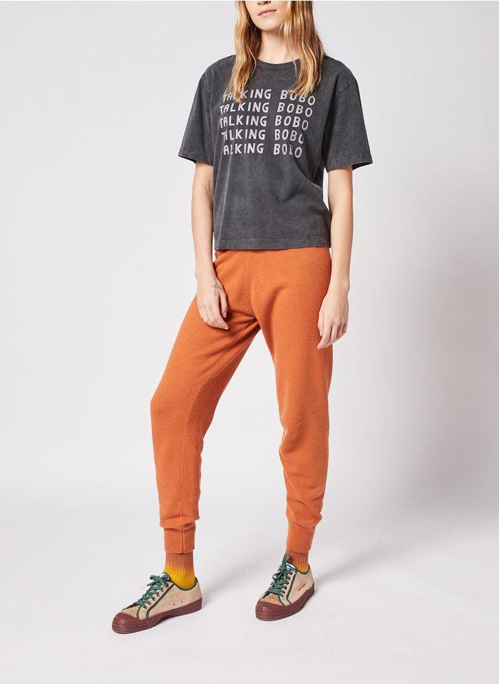 BOBO CHOSES Joggingbroek van tricot - materiaalblend Oranje