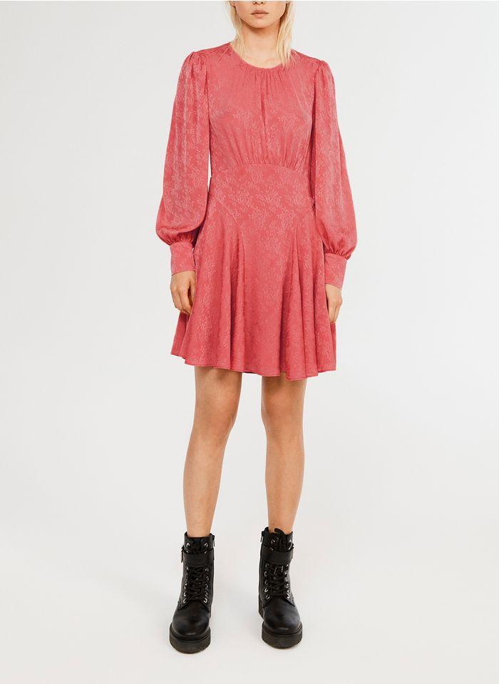 CLAUDIE PIERLOT Korte jurk met pofmouwen Roze