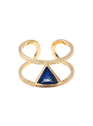 EMMA & CHLOE OR-Lapis Lazuli Goudkleurige